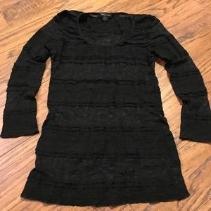 Stretch Lace 3/4 Shirt